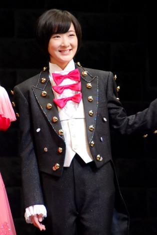 劇場公演『16人のプリンシパル trois』の取材会に出席した乃木坂46・生駒里奈 (C)ORICON NewS inc.