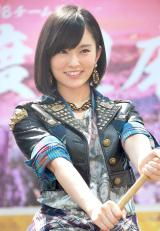 "『AKB48 選抜総選挙 生放送SP』特別企画""戦国アドトラック出陣式""に出席したNMB48・山本彩 (C)ORICON NewS inc."