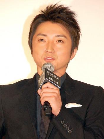 映画『MONSTERZ モンスターズ』初日舞台あいさつに出席した藤原竜也 (C)ORICON NewS inc.