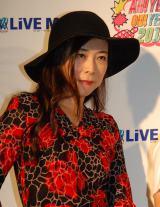 ライブイベント『AH!YEAH!OH!YEAH!2014〜出会いいっぱい〜』に登場した椿鬼奴 (C)ORICON NewS inc.