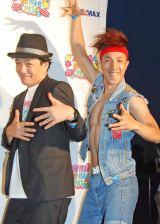 ライブイベント『AH!YEAH!OH!YEAH!2014〜出会いいっぱい〜』に登場した2700 (C)ORICON NewS inc.