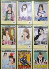 『AKB48選抜総選挙ミュージアム』に展示されているメンバーの個性的な選挙ポスター (C)ORICON NewS inc.