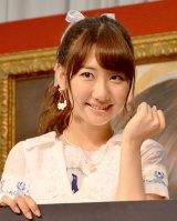 『AKB48選抜総選挙ミュージアム』オープニングセレモニーに出席した柏木由紀 (C)ORICON NewS inc.