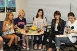 (写真左から)峯村優衣、水沢アリー、尾崎紗代子、安部ニコル、さゆさゆ