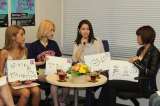(写真左から)峯村優衣、水沢アリー、尾崎紗代子、安部ニコル