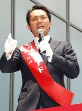 『ハウス・オブ・カード 野望の階段』Blu-ray&DVDリリース記念イベントに出席した杉村太蔵 (C)ORICON NewS inc.
