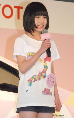 秋田:谷川聖(たにかわ・ひじり)(13)=AKB48チーム8 (C)ORICON NewS inc.