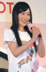 山梨:左伴彩佳(ひだりとも・あやか)(15)=AKB48チーム8 (C)ORICON NewS inc.