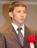 『平成25年度JOCスポーツ賞表彰式』に出席した柔道の高藤直寿選手 (C)ORICON NewS inc.