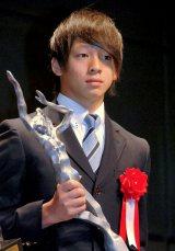 『平成25年度JOCスポーツ賞表彰式』に出席したスノーボードの平野歩夢選手 (C)ORICON NewS inc.