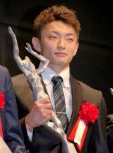 『平成25年度JOCスポーツ賞表彰式』に出席した体操競技の亀山耕平選手 (C)ORICON NewS inc.