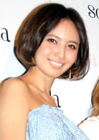 サムネイル 一般男性との入籍を発表した加藤夏希 (C)ORICON NewS inc.
