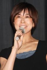 産休入りを報告した萩野志保子アナウンサー(=2008年3月撮影) (C)ORICON NewS inc.