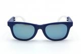 トレンドのミラーレンズがスタイリッシュな印象のサングラス