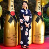 『浴衣でモエ・エ・シャンドン』オープニングイベントに出席した、ヴァイオリニスト川井郁子 (C)oricon ME inc.