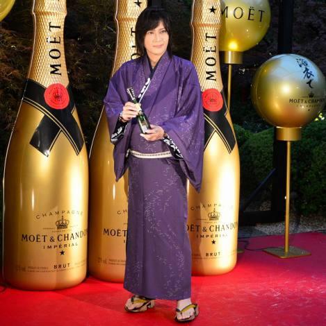 『浴衣でモエ・エ・シャンドン』オープニングイベントに出席した、京本政樹 (C)oricon ME inc.
