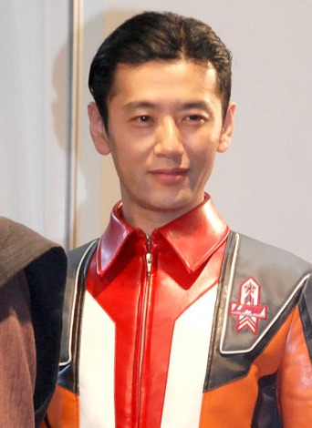ウルトラシリーズ最新作『ウルトラマンギンガS』制作発表会に出席した大浦龍宇一 (C)ORICON NewS inc.
