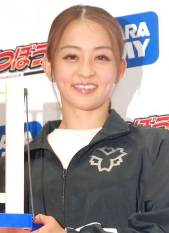 サムネイル 玩具『大車輪てつぼうくん』スペシャルステージに出席した田中理恵 (C)ORICON NewS inc.