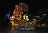 現在の「ピーターパンの海賊船」フロート (C)Disney