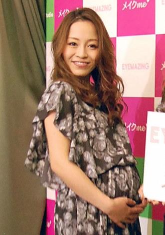 サムネイル 第1子男児を出産した小森純(写真=今年4月撮影) (C)ORICON NewS inc.