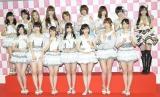 『第6回AKB48選抜総選挙』開票イベントがスタート(写真は昨年の選抜メンバー) (C)ORICON NewS inc.