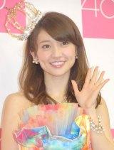 """27歳での結婚は""""憧れ""""だと明かした大島優子 (C)ORICON NewS inc."""