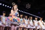 東京・秋葉原のAKB48劇場で「家族」という仲間たちに見送られて卒業した大島優子(C)AKS