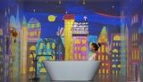 ヘアケア『ベーネプレミアム ルージュリア/ブルーリア』のWeb限定動画に登場するタカハシマイ(Czecho No Republic)