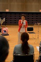 東洋英和女学院コーラス部OGとレコーディングのための合唱リハーサルを行った