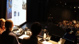 『アヌシー国際アニメーション映画祭』で開催された製作発表会見の様子