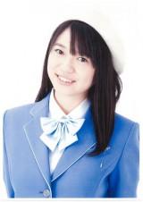 制服向上委員会9代目リーダー・小川杏奈。2006年にメンバーになり、今年で9年目を迎える。 1994年4月15日生まれ。