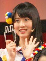 声が前田敦子そっくり?AKB48チーム8の岡部麟=トヨタ『プリウスPHV』新CM発表会 (C)ORICON NewS inc.