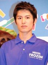 ネスカフェ『ご当地フローズンカップ』キックオフイベントに出席した堀井新太 (C)ORICON NewS inc.