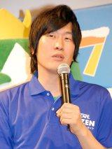 ネスカフェ『ご当地フローズンカップ』キックオフイベントに出席した笑撃戦隊の野村辰二 (C)ORICON NewS inc.