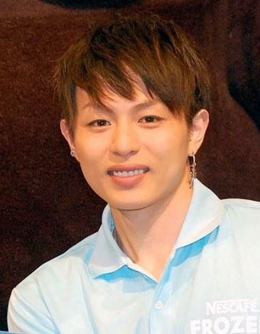 ネスカフェ『ご当地フローズンカップ』キックオフイベントに出席した荒木宏文 (C)ORICON NewS inc.