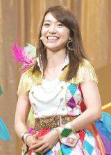"『KYORAKU SURPRISE FESTIVAL 2014』スペシャルステージにAKB48""チームサプライズ""として登場した大島優子 (C)ORICON NewS inc."
