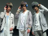 7月23日にリアルデビューするボーイズボカログループ「ZOLA」(写真左から:みのルン、なのっくす。、まうい) (C)ORICON NewS inc.