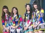 (左から)小嶋陽菜、大島優子、倉持明日香、横山由依 (C)ORICON NewS inc.
