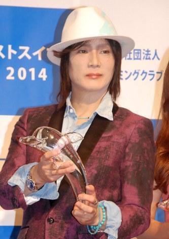『第15回ベストスイマー2014』表彰式に出席した京本政樹 (C)ORICON NewS inc.