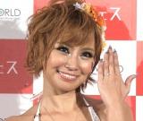 昨年12月には幸せいっぱいに婚約発表していた浜田ブリトニー (C)ORICON NewS inc.