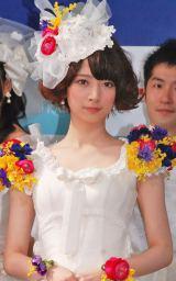 「乃木坂JUNE BRIDEフェスティバル」に出席した橋本奈々未 (C)ORICON NewS inc.