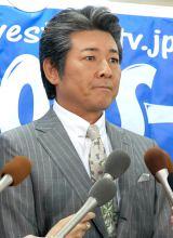 会見で離婚の真相を語った布川敏和 (C)ORICON NewS inc.
