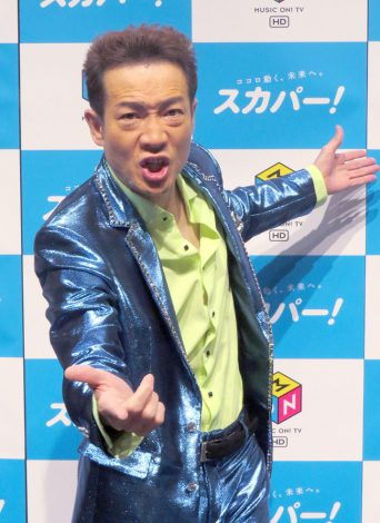 『スカパー!×MUSIC ON! TV TOSHIHIKO TAHARA 35th ANNIVERSARY SPECIAL』の取材会に出席した田原俊彦 (C)ORICON NewS inc.