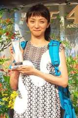 『水曜ドラマ Woman』で主演を務めた満島ひかりが『第40回放送文化基金賞』演技賞を受賞 (C)ORICON NewS inc.