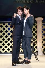 クォン・サンウ&ユンホ、仲の良さアピール