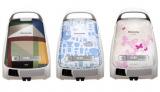 パナソニックが人気インテリアショップとのコラボ掃除機を発売 (左から)イデー、イルムス、レイジースーザン