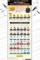 『プロモーションビデオの景色を繋げ!』投票企画ページ (C)古舘春一/集英社・「ハイキュー!!」製作委員会・MBS (C)BANDAI NAMCO Games Inc.
