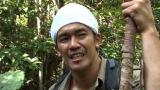 東南アジアのボルネオ島で100時間サバイバルに挑んだ武井壮。7月1日放送『全世界極限サバイバル ジャングル!無人島!灼熱砂漠!極寒地帯で100時間生き残れ!』(C)TBS