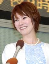 55日で離婚したことを報告した遠野なぎこ(5月9日の結婚会見にて撮影) (C)ORICON NewS inc.