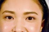 メニコンのサークルレンズ『2WEEKメニコン Rei』 (左目に着用)自然な色合いで瞳をボリュームアップ (C)oricon ME inc.